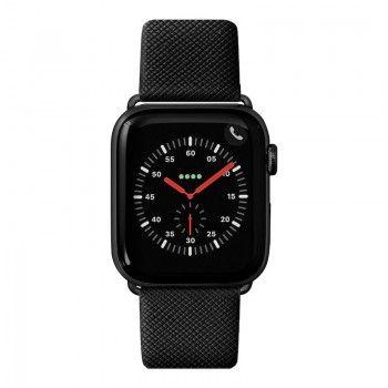 Bracelete para Apple Watch Laut Prestige 42/44 mm - Preto
