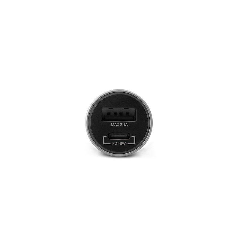 Carregador Auto GMS essentials PD 18W Space Grey
