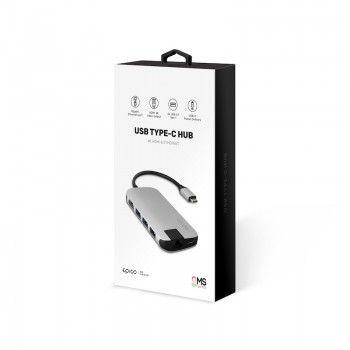 HUB Multimedia GMS essentials Silver