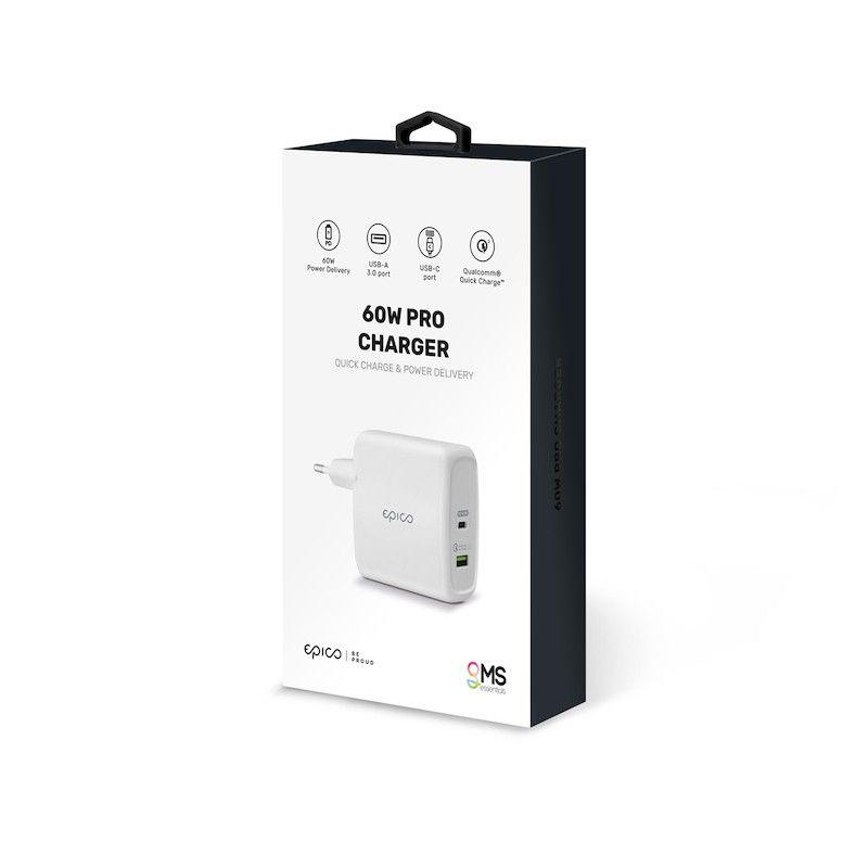 Carregador GMS essentials 60W Pro White