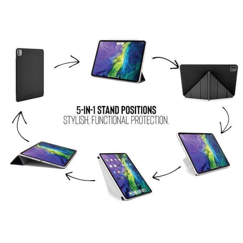 Capa iPad Pro 12.9 (2020) Pipetto Origami Folio Black