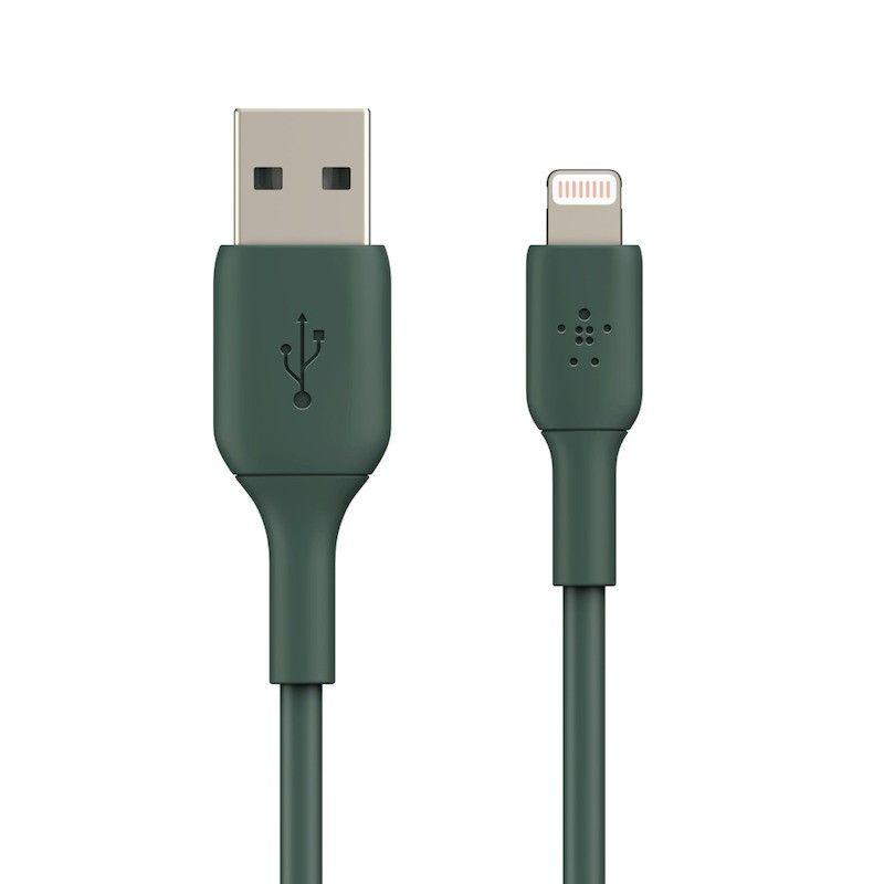 Cabo Lightning / USB-A 1 m Belkin Midnight Green