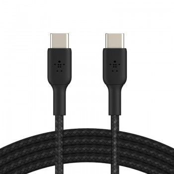 Cabo USB-C Belkin BOOST CHARGE Braided 1 m Black