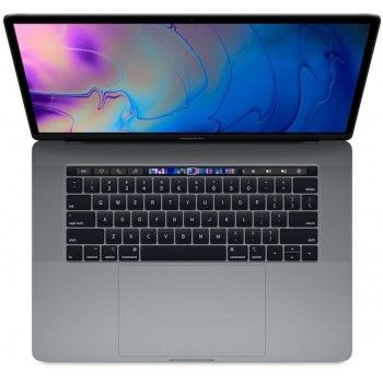 "MacBook Pro 15"" TBar 2.6GHZ/i7 6C/16GB/RP555X/256GB - Cinzento Sideral - Caixa aberta"