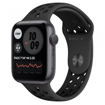 Apple Watch Nike 6, 44 mm - Cinzento sideral