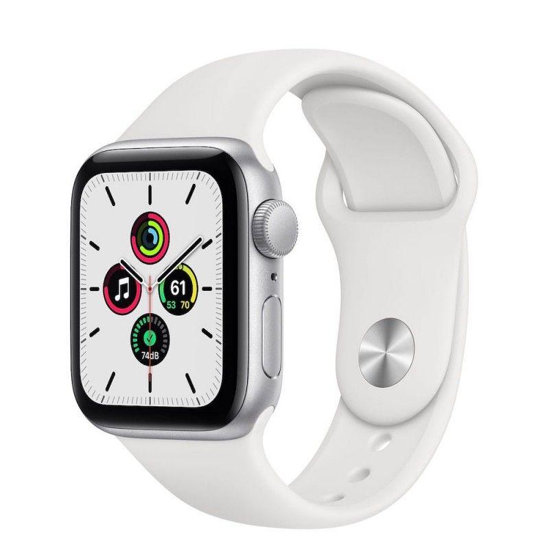 Apple Watch SE, 40 mm - Prateado