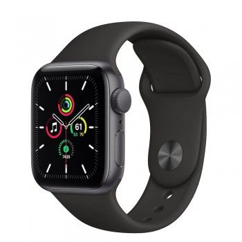 Apple Watch SE, 40 mm - Cinzento sideral