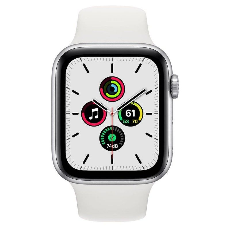 Apple Watch SE, 44 mm - Prateado