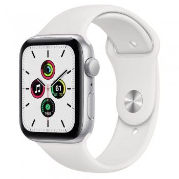 Apple Watch SE, 44 mm - Prateado