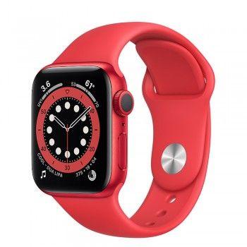 Apple Watch 6, 40 mm - Vermelho (Product) Red