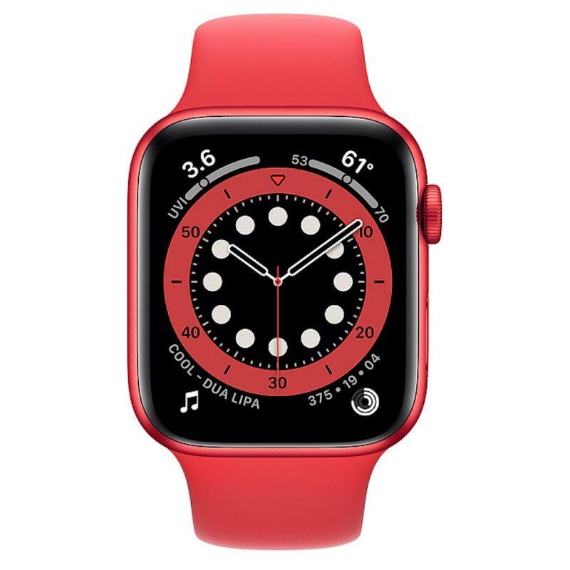 Apple Watch 6, 44 mm - Vermelho (Product) Red