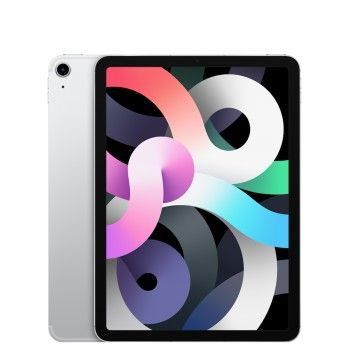 "iPad Air 10,9"" Wi-Fi Cellular 64 GB (2020) - Prateado"