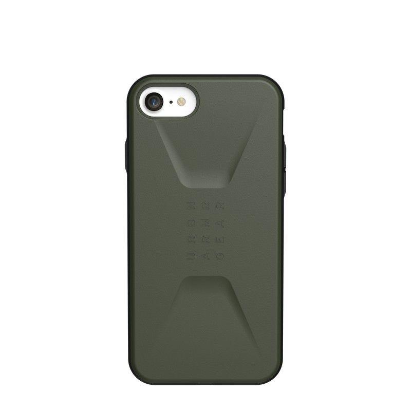 Capa para iPhone SE (2020) UAG Civilian - Verde oliva