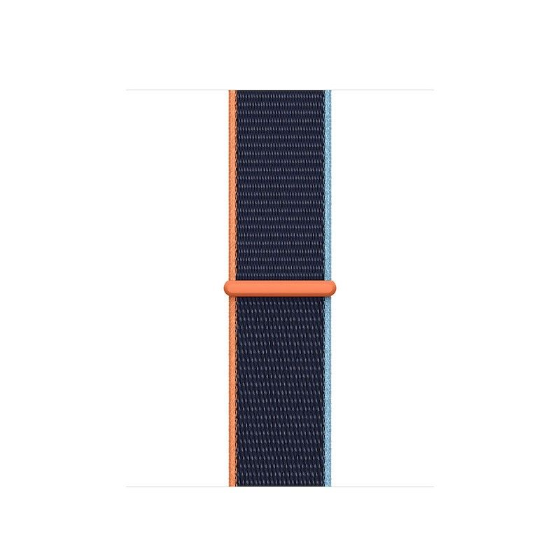 Bracelete Loop desportiva para Apple Watch 38 a 41 mm - Azul profundo