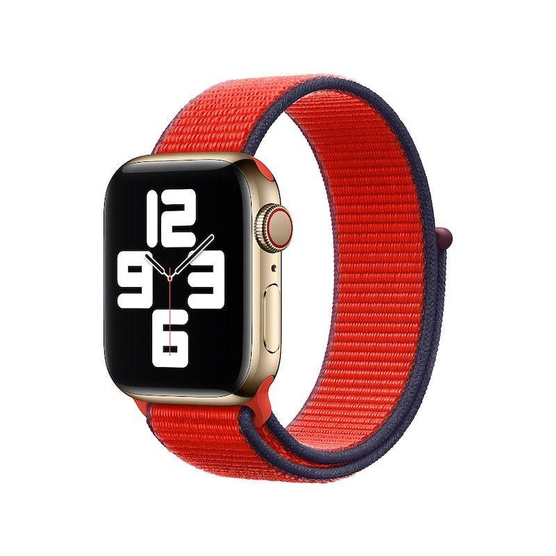 Bracelete Loop desportiva para Apple Watch (40/38 mm) - Vermelha (PRODUCT) RED