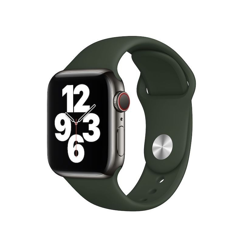Bracelete desportiva para Apple Watch (44/42mm) - Verde Chipre