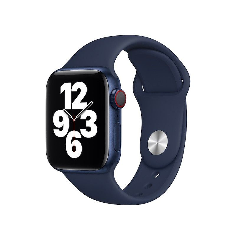 Bracelete desportiva para Apple Watch (40/38 mm) - Azul profundo