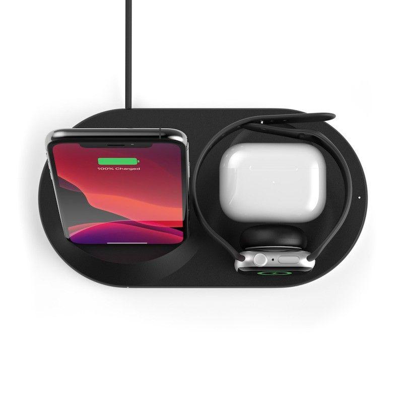 Base de Carregamento Wireless Belkin Boost Charge 3 em 1 Preto