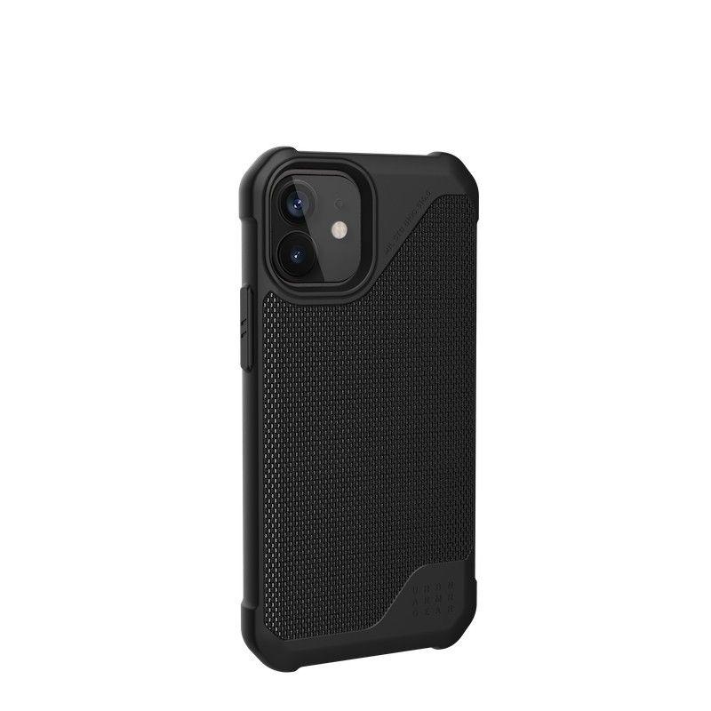 Capa UAG iPhone 12 mini Metropolis LT Kevlar Black