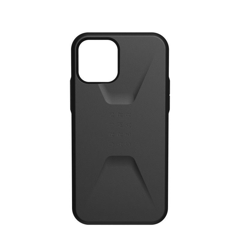 Capa UAG iPhone 12/12 Pro Civilian Black