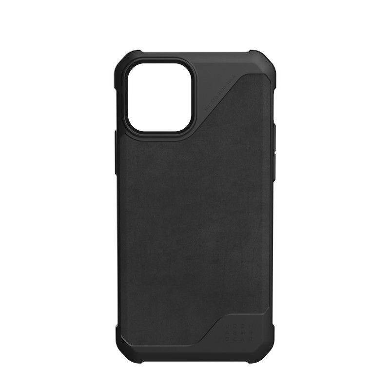 Capa UAG iPhone 12/12 Pro Metropolis LT Leather Black