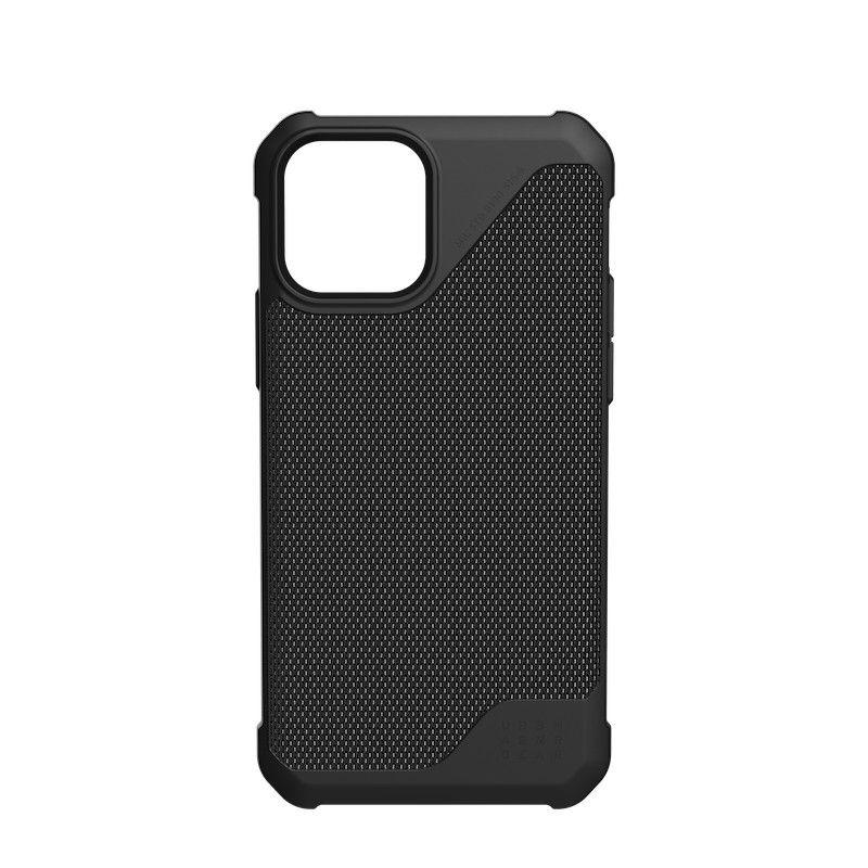 Capa UAG iPhone 12/12 Pro Metropolis LT Kevlar Black