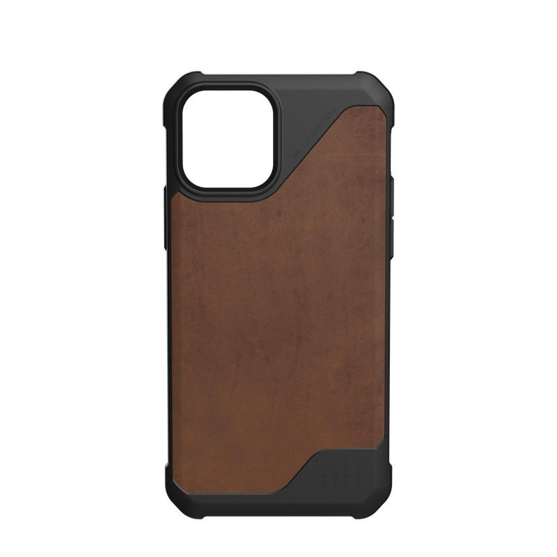 Capa UAG iPhone 12/12 Pro Metropolis LT Leather Brown