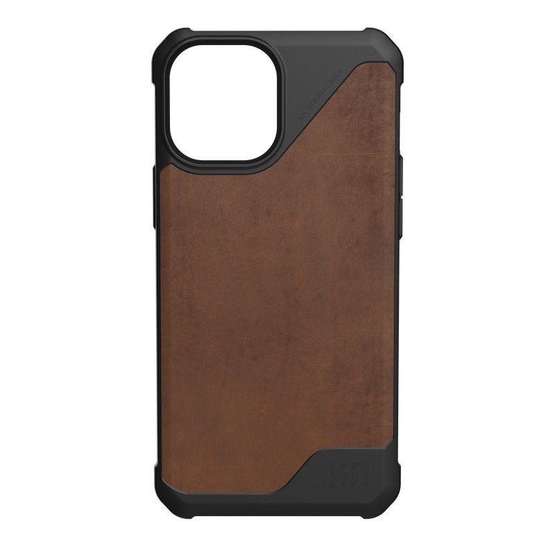 Capa UAG iPhone 12 Pro Max Metropolis LT Leather Brown
