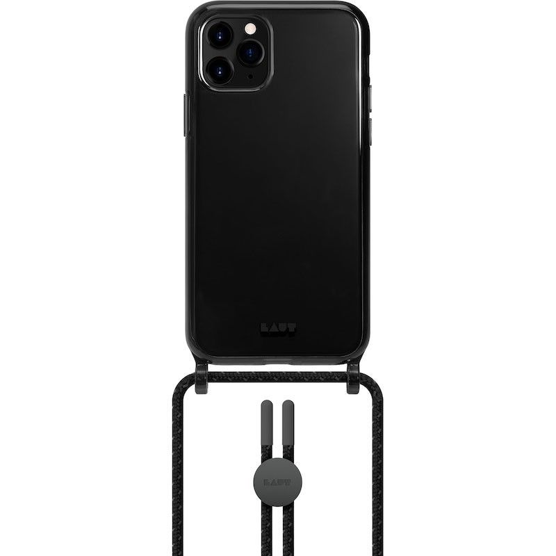 Capa Laut iPhone 12/12 Pro Crystal-X NECKLACE Ultra Black