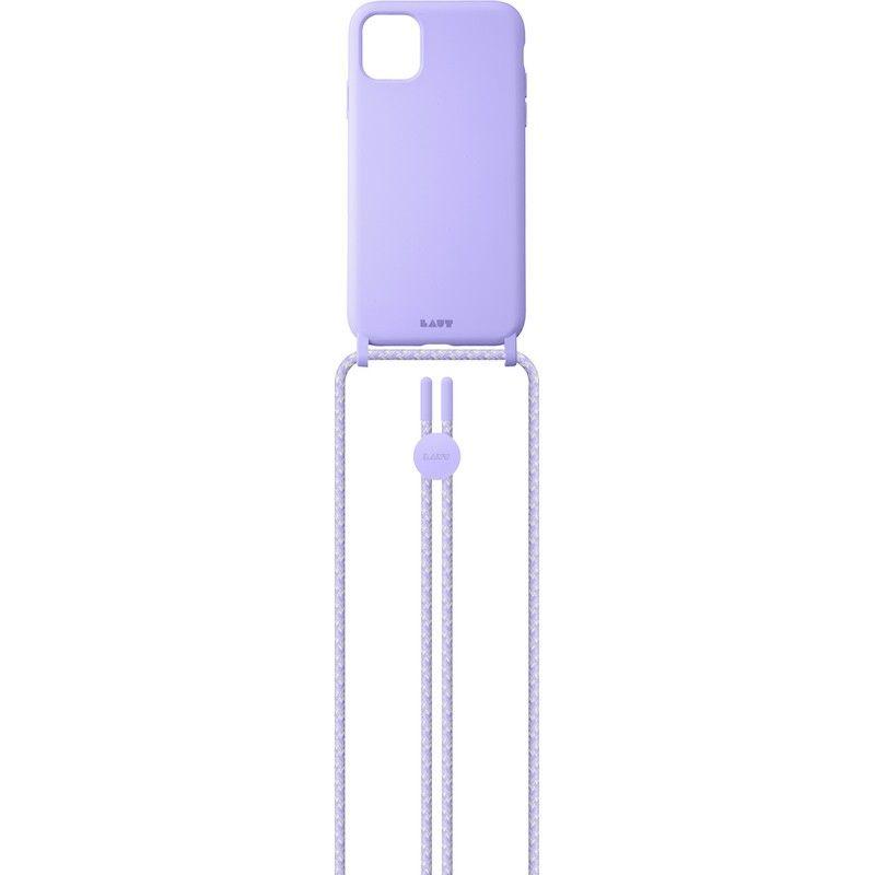 Capa Laut iPhone 12/12 Pro PASTELS NECKLACE Violet