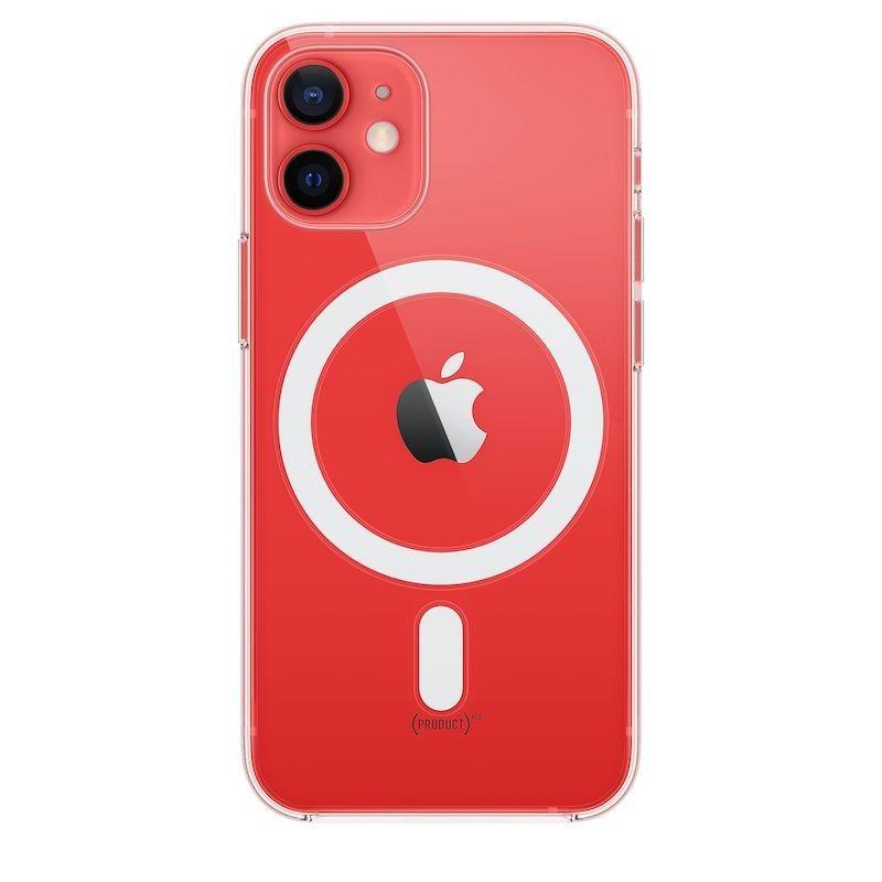 Capa transparente com MagSafe para iPhone 12 mini - Transparente