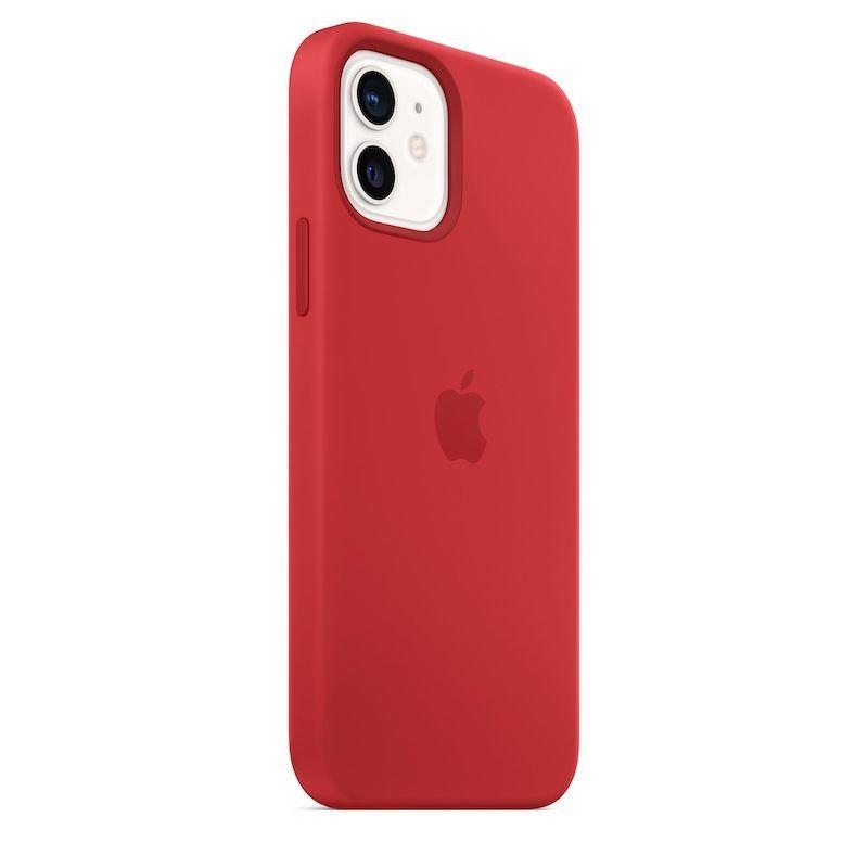 Capa para iPhone 12   12 Pro em silicone com MagSafe - Vermelho (PRODUCT)RED