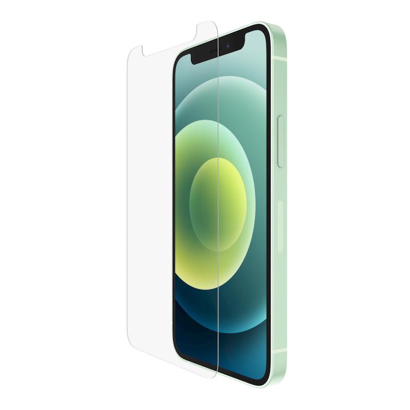 Película Belkin Screenforce Tempered Glass Anti-Microbial para iPhone 12 mini