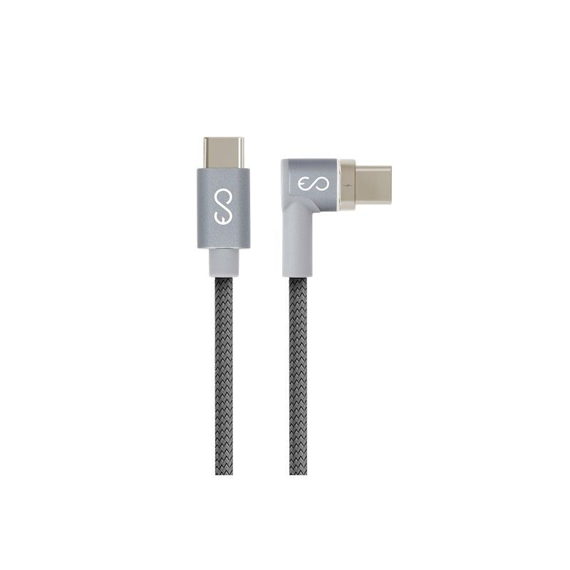 Cabo USB-C EPICO Magnetic Power 2 m Space Gray