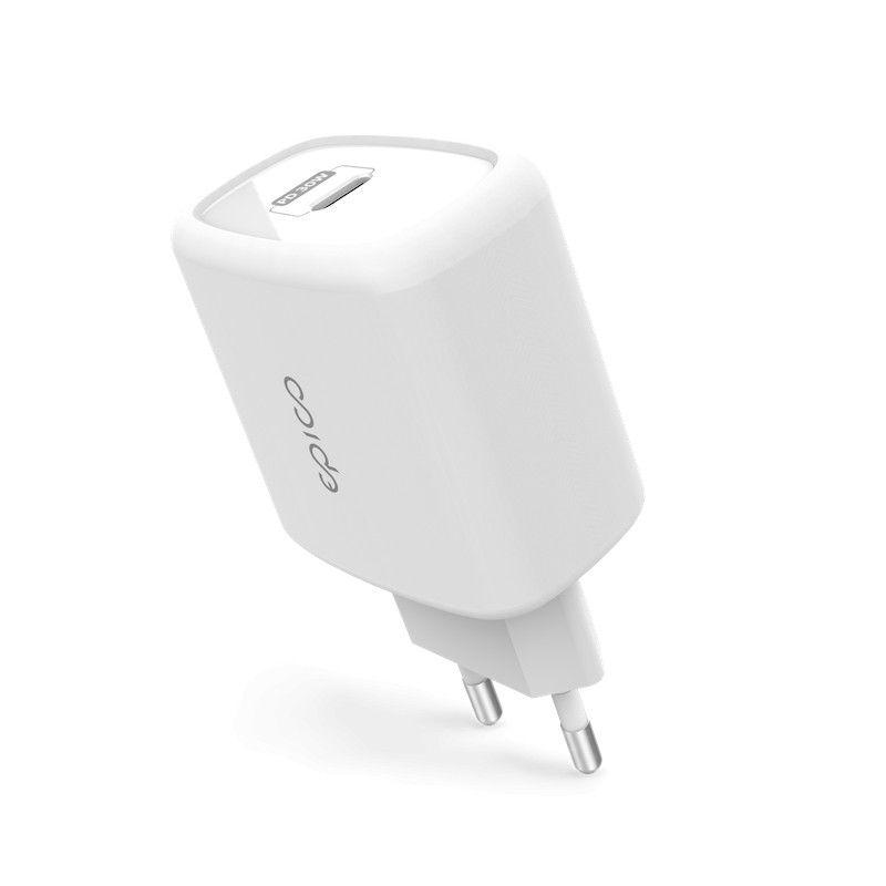 Carregador USB-C EPICO 30W com Power Delivery