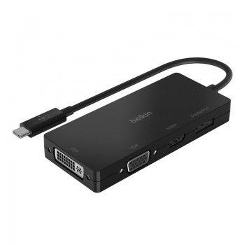 Adaptador de Vídeo Belkin USB-C para HDMI/VGA/DVI/DISPLAYPORT