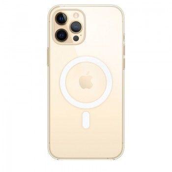 Capa transparente com MagSafe para iPhone 12 Pro Max - Transparente