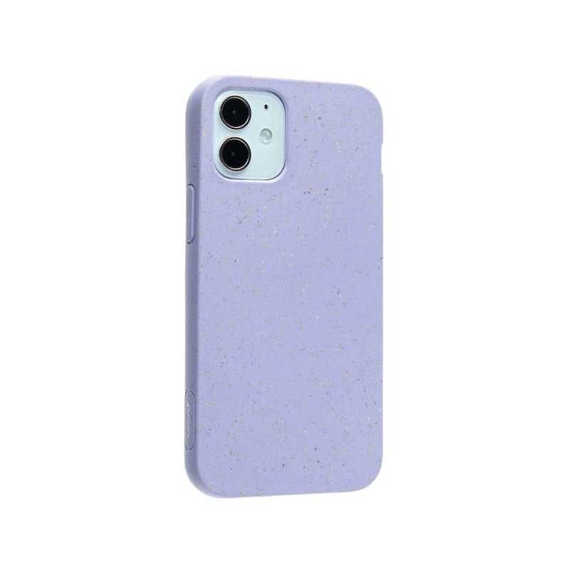 Capa para iPhone 12 mini PELA Eco Case Lavander