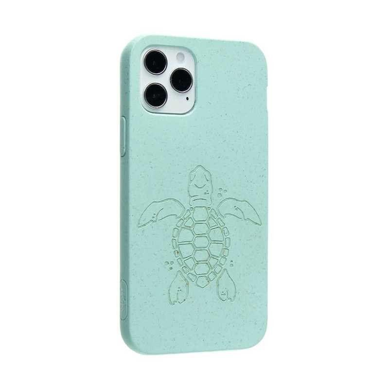 Capa para iPhone 12/12 Pro PELA Eco Case Turtle Edition Turquoise