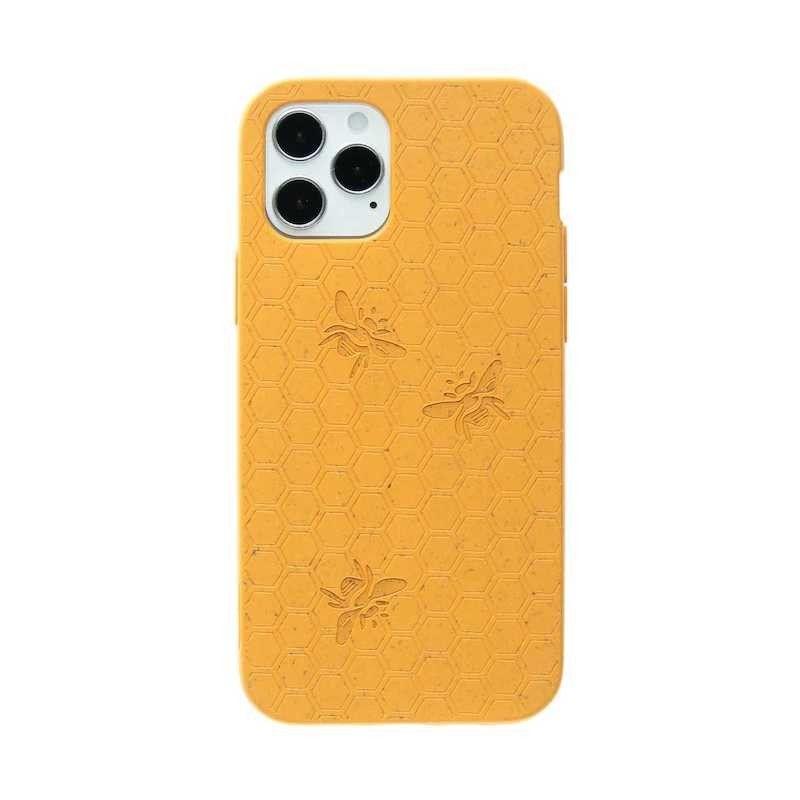 Capa para iPhone 12/12 Pro PELA Eco Case Bee Edition Yellow