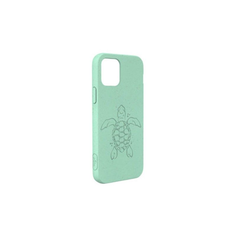 Capa para iPhone 12 Pro Max PELA Eco Case Turtle Edition Turquoise