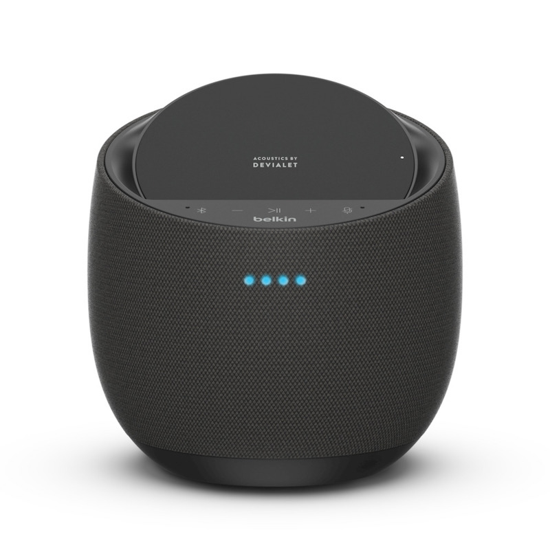 Coluna Belkin SoundForm Elite Hi-Fi com AirPlay 2 Preto