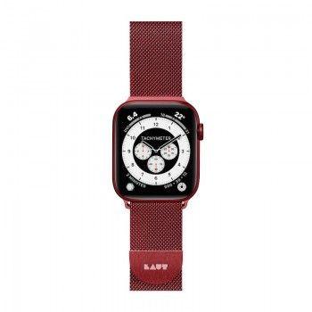 Bracelete para Apple Watch Laut Steel Loop 42/44mm Red