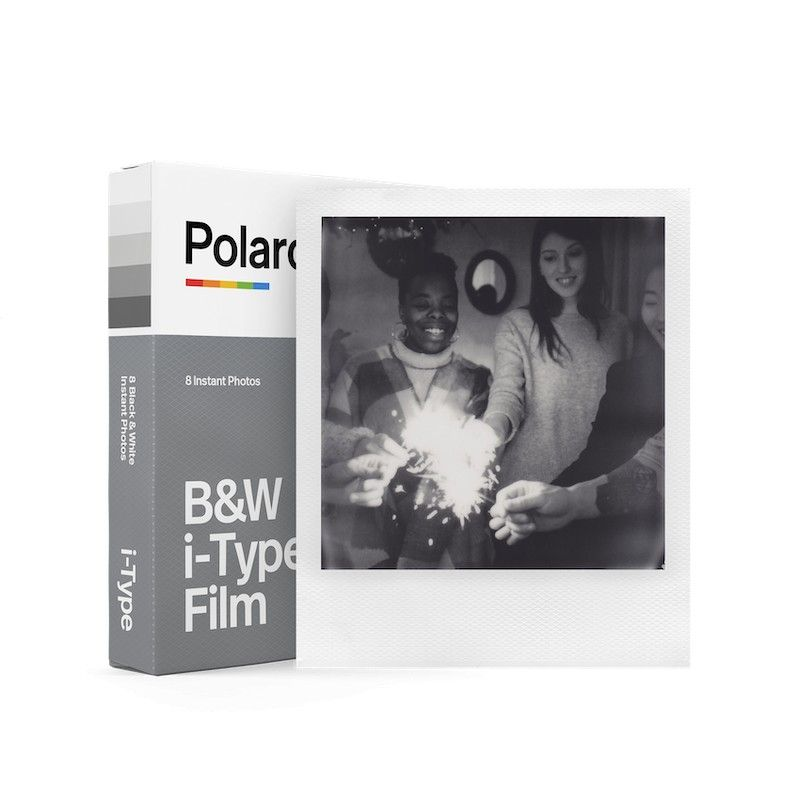Filme i-Type preto e branco para Polaroid
