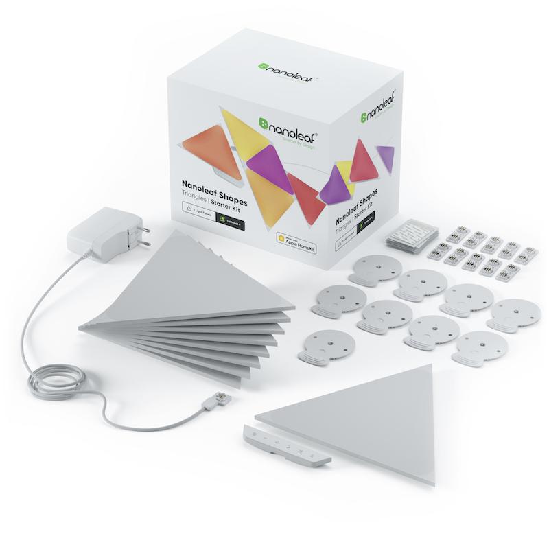 Nanoleaf Light Panels - Shapes Triangles Kit (starter+9 panels)