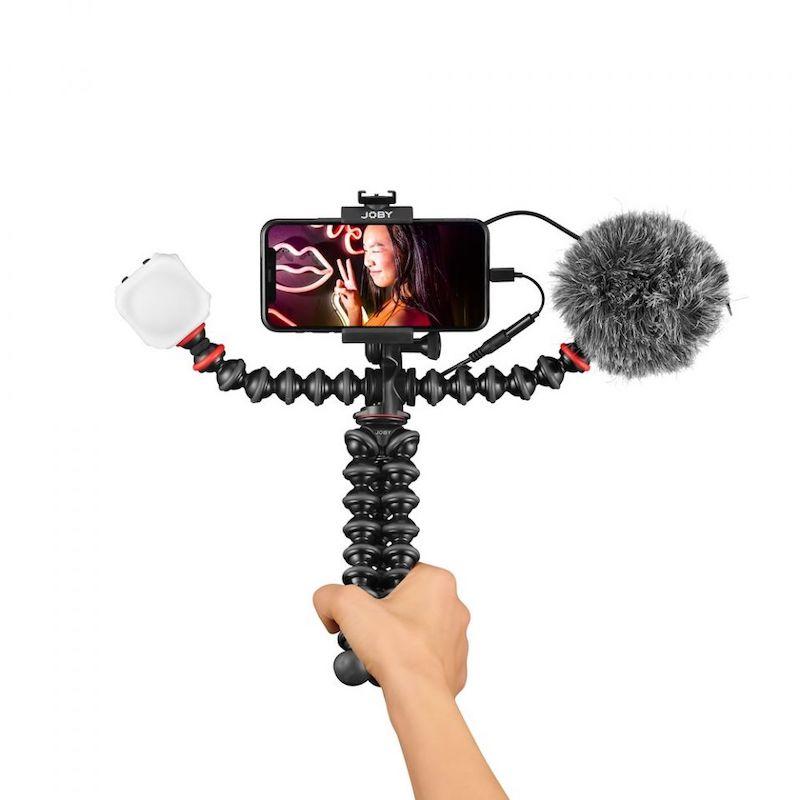 Kit JOBY GorillaPod Mobile Vlogging Kit