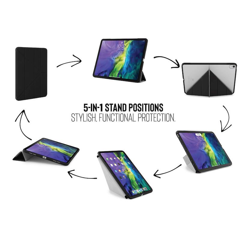 Capa para iPad Air 4 10.9 Pipetto Origami No1 Preto