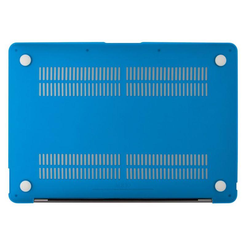 Capa EPICO Shell Cover para MacBook Air 13 2018/2020 Matte Blue