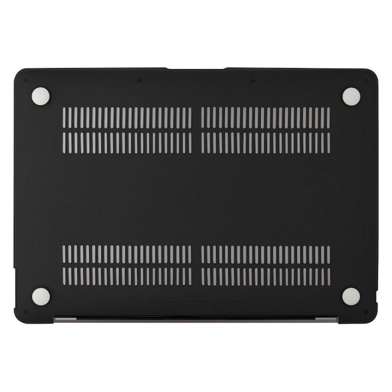 Capa EPICO Shell Cover para MacBook Air 13 2018/2020 Matte Black