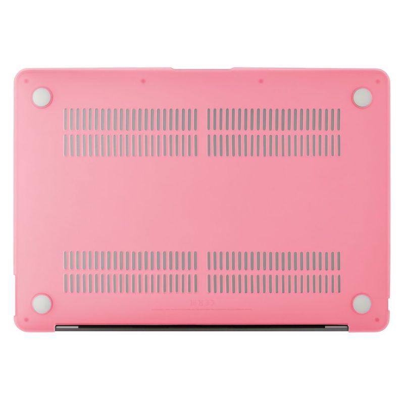 Capa EPICO Shell Cover para MacBook Air 13 2018/2020 Matte Pink